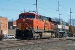 BNSF 6129 & 9712