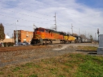BNSF 8292, UP 3452, NS ? WB on NS