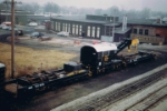 N&W Crane 514902  NW Montpelier, OH Yard Early 1980's