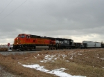 EB BNSF 4630 and NS 4637 Operation Lifesaver on NS