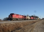 CP 8562, SOO 6007 WB on NS 9:02 AM