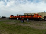 BNSF 1235 and 1276