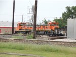 SPSX 43803, BNSF 1235, and BNSF 1276