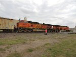 BNSF 7908 and 4051