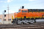 Side Shot of the Newest ES44C4 I've Got this Year So Far BNSF 8230 as She Heads into the Amarillo Depot.