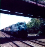 Conrail #6520 at Boden lane bridge in West Natick