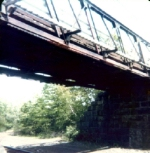 Boden lane trestle bridge in West Natick over the Boston line