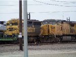 BNSF SD45-2 6493 & UP C44-9W 9808