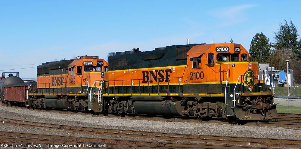 BNSF 2100 - BNSF 1599