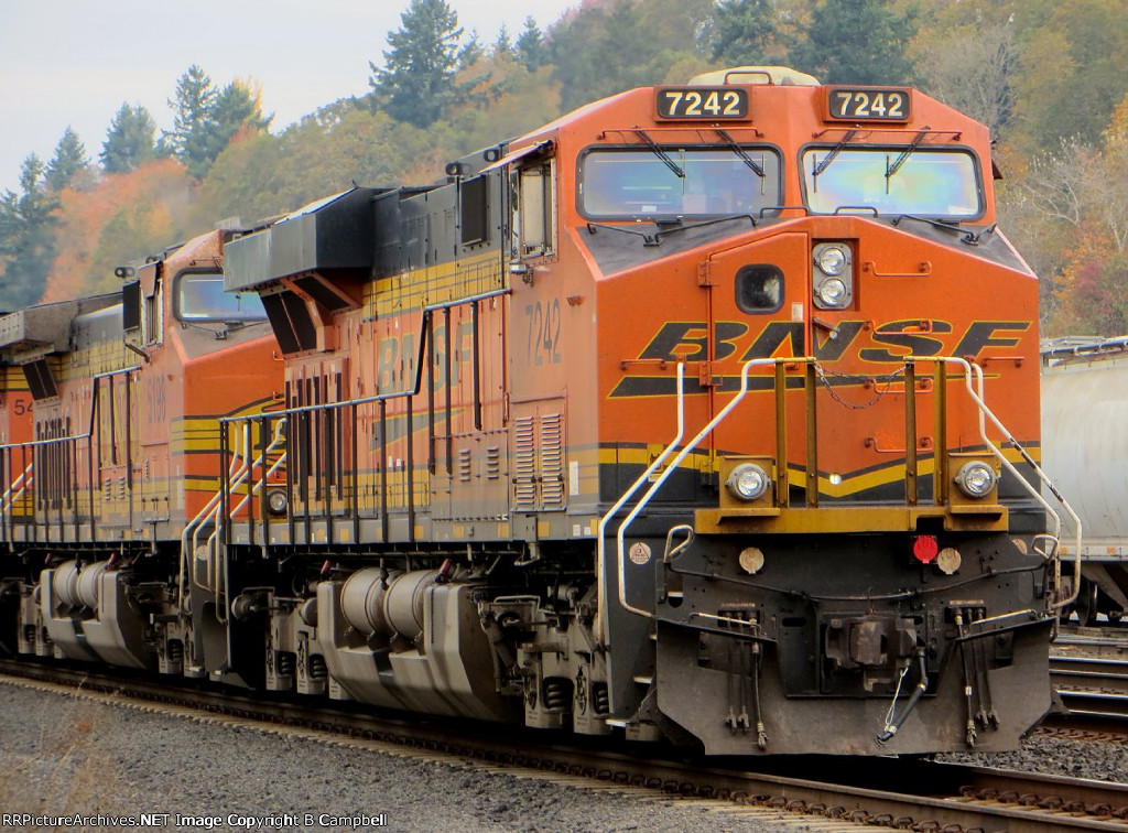 BNSF 7242 - BNSF 5198