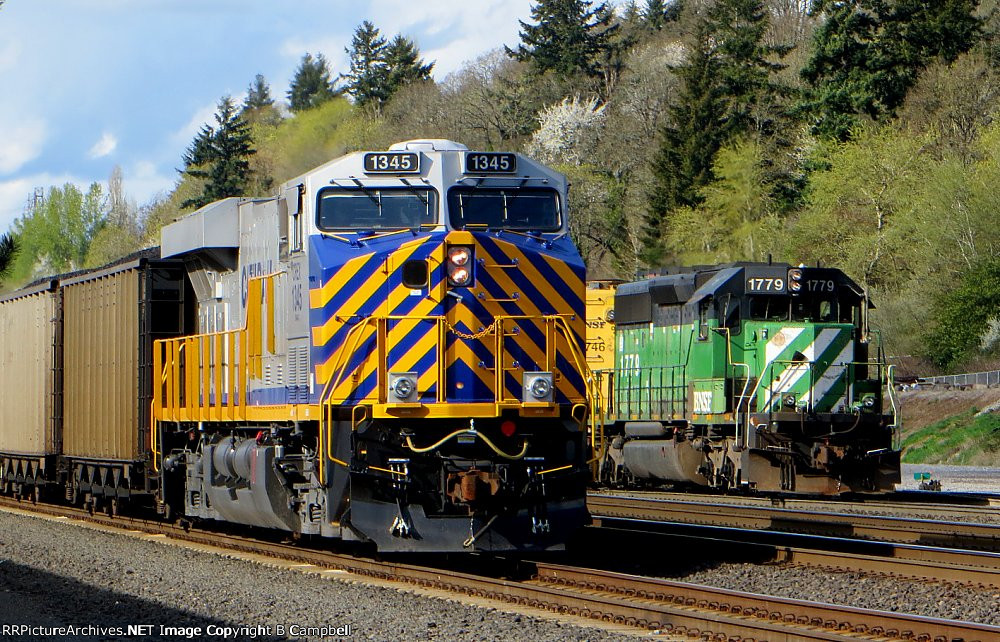 CREX 1345  and BNSF 1779