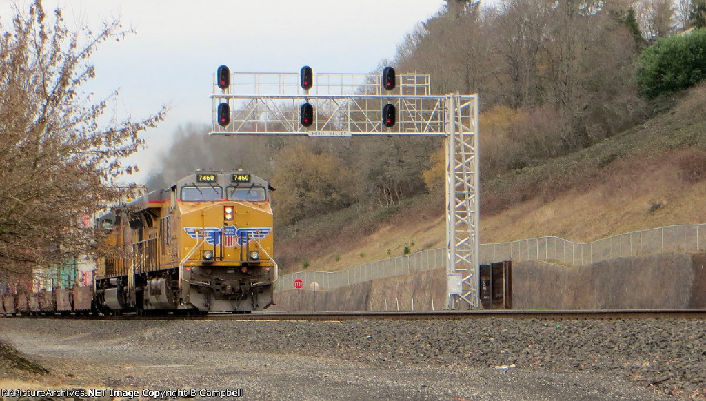 UP 7460 - UP 4748