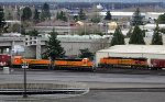 BNSF 1560 - BNSF 60 and pusher BNSF 6370