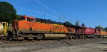 BNSF5994 in lead with CP 8811 and BNSF 4379