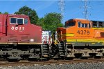 CP 8811 and BNSF 4379