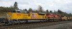 UP 8960 - KCS 4160 - UP 5071 - UP 7502