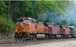 BNSF 5013 - CP 9523 - CP 9505