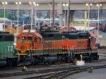 BNSF 1682 - BNSF 2754 , BNSF 2112 , UP 4598 - BNSF 7041 - BNSF 5675