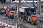 BNSF 1793 with BNSF 2156