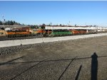 BNSF 2707 & BNSF 1473 - BNSF 8025 - CREX 1334