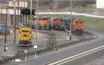 BNSF 2959, BNSF 2236 - BNSF 1932, BNSF 9276 - pole - CSX 3347 - BNSF 7321 - BNSF 4301