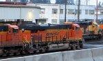 BNSF 6502 with BNSF 7325 / BNSF 1746