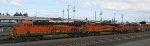 BNSF 7024 - BNSF 7439 - BNSF 6818 - BNSF 4236