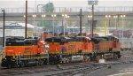 BNSF 7534 - BNSF 4357 with BNSF 2810
