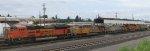 BNSF 9194 - UP 5418 - CREX 1331 - BNSF 7999 - CREX 1426