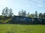 NS 5263 old Conrail leads em