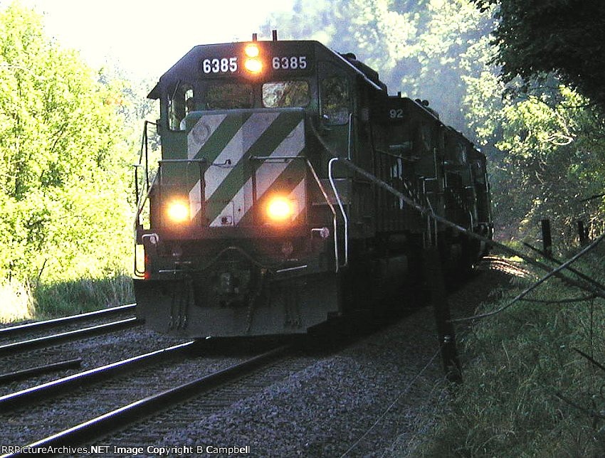 BNSF 6385