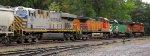 BNSF 7499 - BNSF 1836 - BNSF 4013 - CREX 1305