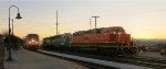 AMTK 132  - BNSF 2102 - BNSF 3156 - BNSF 2112