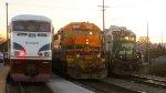 AMTK 469 & PNWR 3007 & BNSF 2752