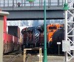 BNSF 7836 - CEFX 1020 - BNSF 8537