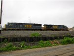CSX 8763 and 5360