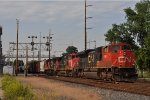 CN 8867 On NS 175 Eastbound
