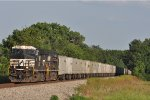 NS 9091 On NS 264 Westbound