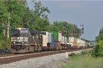 NS 9681 On NS 282 Northbound