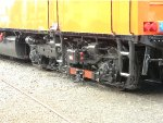 Third rail pick-up shoe