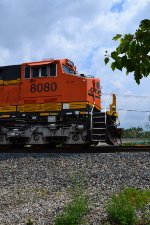 BNSF waits its turn to go through CP Scioto at Columbus.
