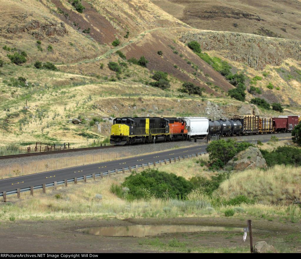 WAMX 4016 Heading West
