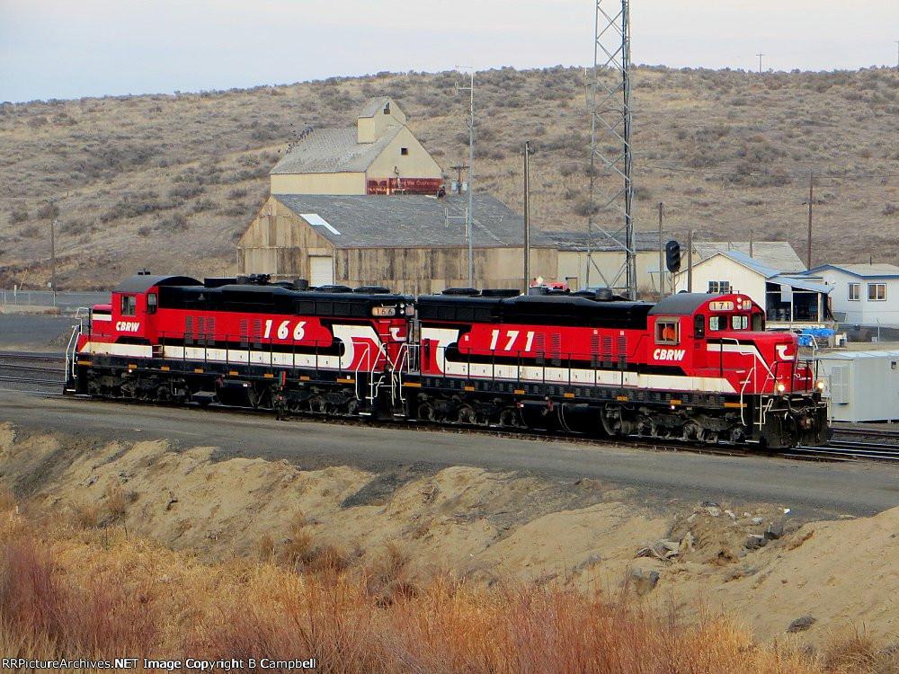 CBRW 171 and CBRW 166