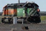 BNSF 1836 - BNSF 1668