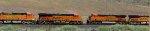 BNSF 7040 - BNSF 4008 passes BNSF 7111