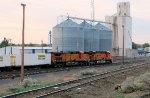 BNSF 7524 in lead with BNSF 4410