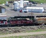 CBRW 302 with BNSF 1447
