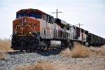 Paused unit grain train