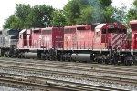 Ex-CP Rail SD40s