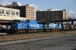 A pair of CONRAIL's head west